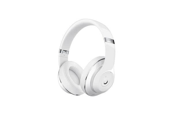 Beats Studio2 Wireless Over-Ear Headphones - Gloss White - with Active Noise Cancellation