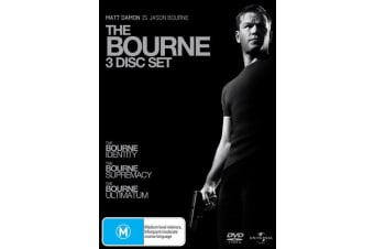 The Ultimate Bourne Collection DVD Region 4