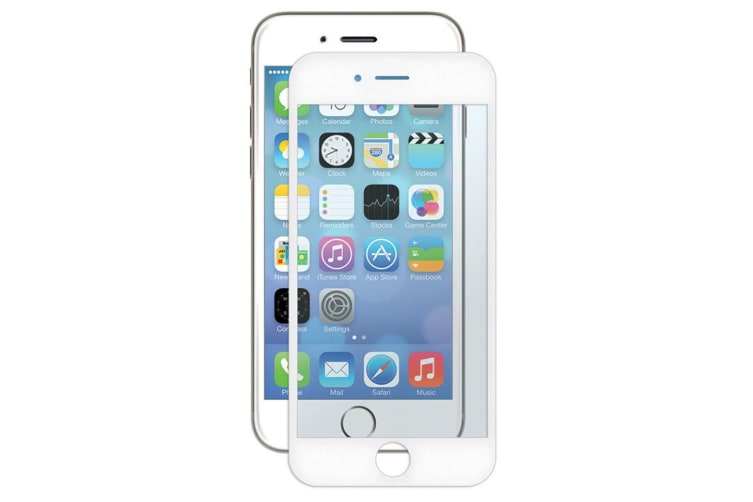 Gecko White Bubble Free Screen Protector For iPhone 6 - 2 Pack