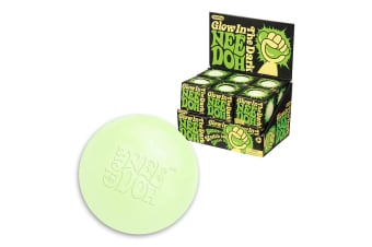 Schylling Glow in the Dark Nee-Doh Stress Ball