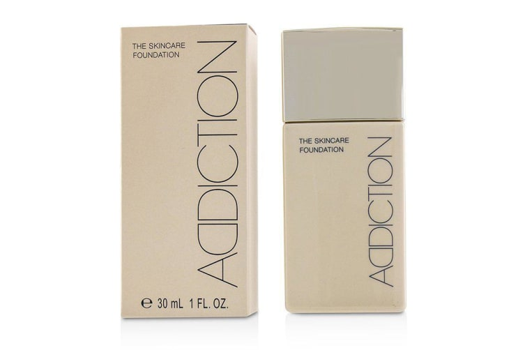 ADDICTION The Skincare Foundation SPF 25 - # 010 (Almond Beige) 30ml