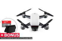 DJI Spark (Alpine White) and BONUS SanDisk 64GB Ultra microSDXC