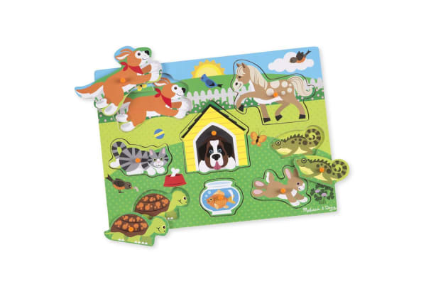 Melissa and Doug Pets Peg Puzzle