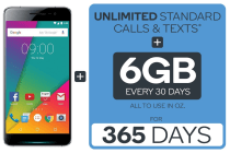 Kogan Agora 6 Plus (32GB) + Kogan Mobile Prepaid Voucher Code: MEDIUM (365 Days | 6GB Per 30 Days)