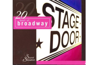 STAGE DOOR 20 BEST OF BROADWAY 20 TRACK BRAND NEW SEALED MUSIC ALBUM CD