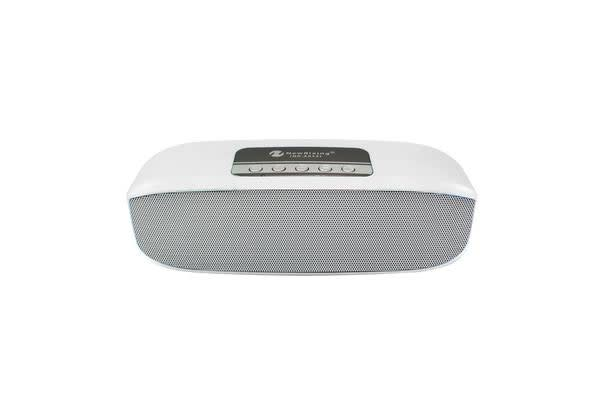 Bluetooth V2.1+Edr Wireless Speaker Led Party Light Portable Usb Tf White