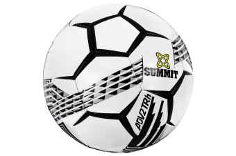 Summit ADV2 Size 5 Trainer Soccer Ball/Football White Sport/Game Indoor/Outdoor