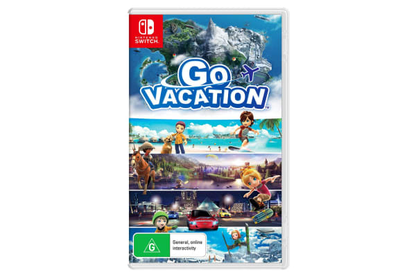 Nintendo Switch Go Vacation Game