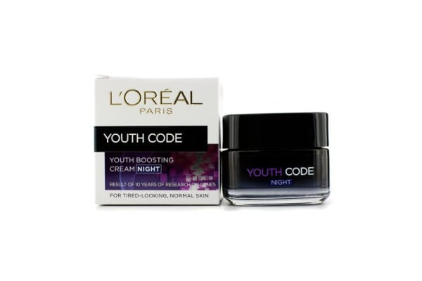 L'Oreal Youth Code Youth Boosting Cream (Night) (For Normal Skin) (50ml/1.7oz)