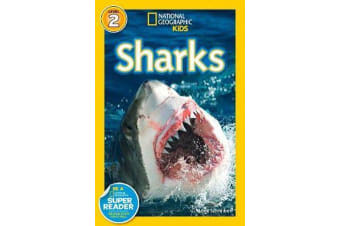 National Geographic Kids Readers - Sharks
