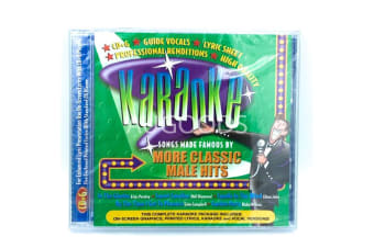 KARAOKE - MORE CLASSIC MALE HITS BRAND NEW SEALED MUSIC ALBUM CD - AU STOCK