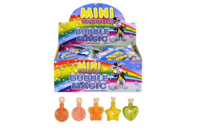 Henbrandt Childrens/Kids Assorted Mini Touchables - Bubble Magic (Pack Of 48) (Multicolured) (One Size)