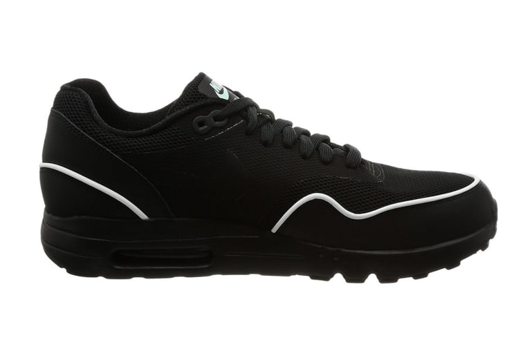 separation shoes los angeles popular stores Nike Men's Air Max 1 Ultra 2.0 Essential Shoe (Black/Mint, Size 7.5 US)