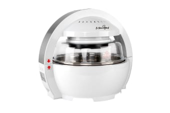 5 Star Chef Multipurpose Air Fryer 13L (White)