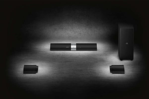 Philips Fidelio B5 Soundbar with Wireless Detachable Subwoofer & Rear Speakers