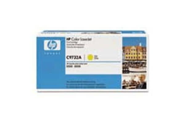 HP Toner 645A C9732A Yellow (12000 pages)