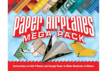Paper Airplanes Mega Pack - Instructions to Fold 4 Planes and Enough Paper to Make Hundreds of Gliders