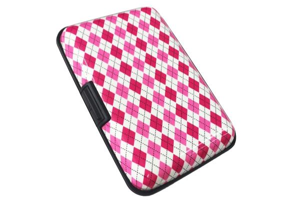 Security Card Wallet Checkered