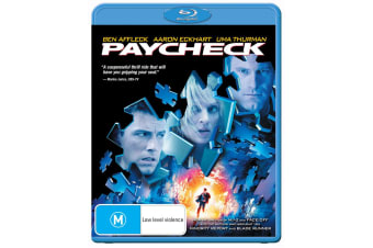 Paycheck Blu-ray Region B