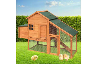 Wooden Chicken Coop Extra Large XL Rabbit Hutch Hen Chook House Run