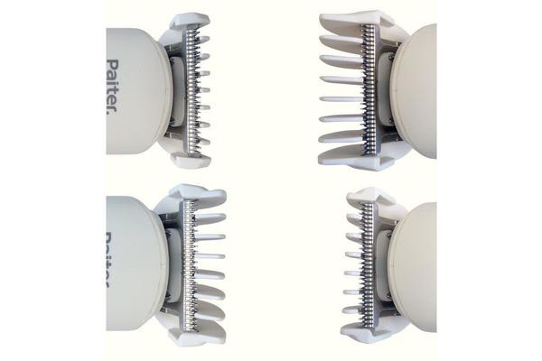 Baby Hair Clipper Trimmer Safety Touch Stainless Blade 4 Combs Battery Power T28