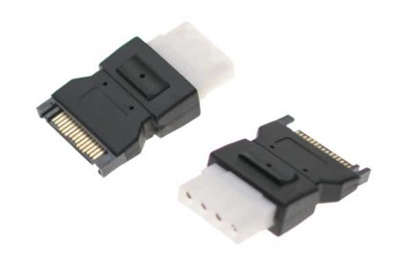 Astrotek SATA Power Adapter Converter 15 pins Male to 4 pins Female