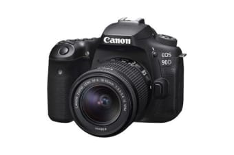 New Canon EOS 90D EF-S 18-55mm f/3.5-5.6 IS USM Lens Digital SLR Camera (FREE DELIVERY + 1 YEAR AU WARRANTY)