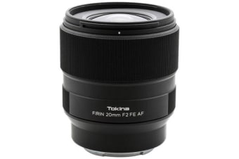New Tokina FiRIN 20mm f/2 FE AF Lens Sony (FREE DELIVERY + 1 YEAR AU WARRANTY)