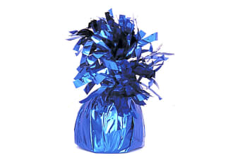 Unique Party Royal Blue Foil Tassels Balloon Weight (Royal Blue) (One Size)