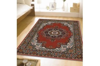 Traditional Pattern Medallion Rug Red 330X240cm