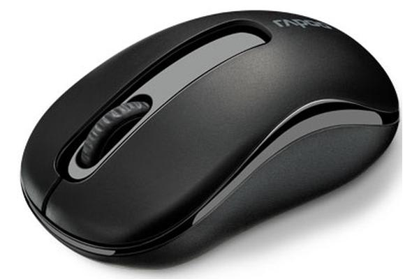 RAPOO M10 2.4GHz Wireless Optical Mouse Black - 1000dpi 3Keys