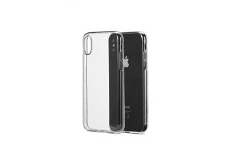 Apple iPhone X Slim Bumper Case (Clear)