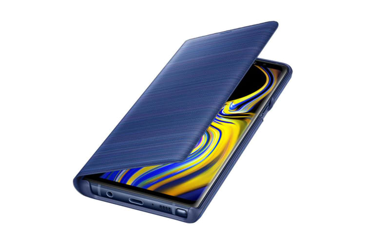 Samsung Galaxy Note 9 LED View Cover - Blue