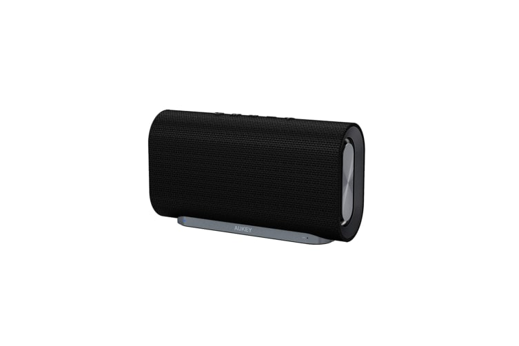 AUKEY Eclipse Bluetooth Speaker 20W Enhanced Bass Dual Subwoofers Portable Radio