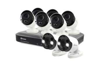 Swann 8 Camera 8 Channel 5MP Super HD 2TB DVR Security System (SWDVK-85MP6B2FB-AU)