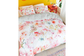 Plaisir Pastel Cotton Sateen Quilt Cover Set by Bedding House