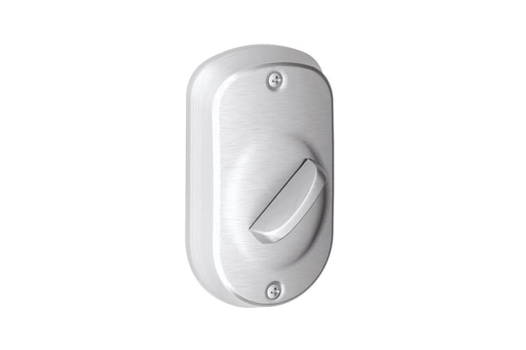 Schlage Keypad Deadbolt with Plymouth Trim (Satin Chrome)