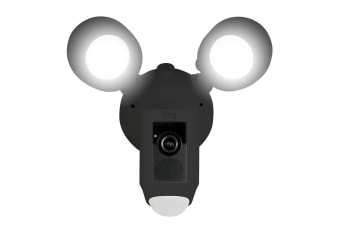 Ring Floodlight Camera (Black)
