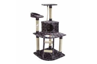 Cat Tree Scratcher BEAR 120cm - GREY