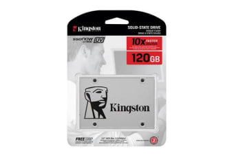 Kingston SUV400 120GB 2.5' SATA3 SSD - MLC 550/450 MB/s 7mm Solid State Drive