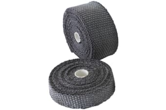 "Aeroflow Exhaust Insulation Wrap2""X15Ft15 Foot Black Roll"