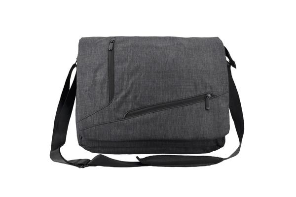 "Luckysky messenger bag for 14.1""-15.6"" Notebook / Laptop (Black) Adjustable & comfortable"