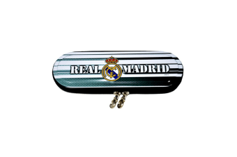 Real Madrid Official Metal Pencil Case (Black)