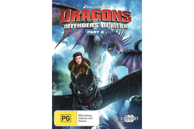 Dragons Defenders of Berk Part 2 DVD Region 4