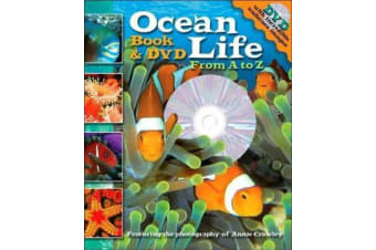 Ocean Life - From A to Z Book and DVD