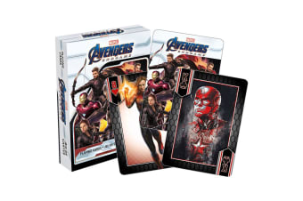 Marvel Avengers End Game Playing Cards