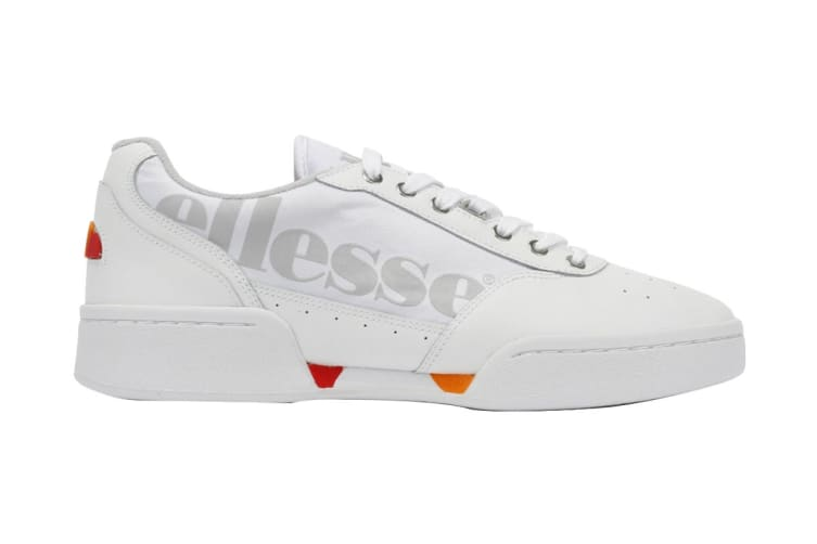 Ellesse Men's Piacentino Leather AM Shoe (White, Size 9.5 US)