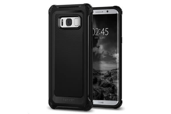 Spigen Galaxy S8+ Rugged Armor Extra Case Black
