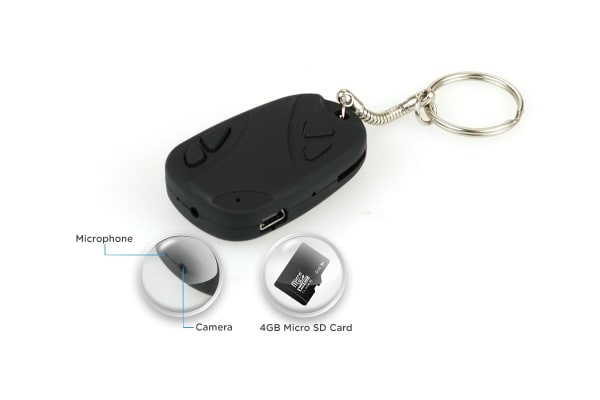 Spy Key Ring