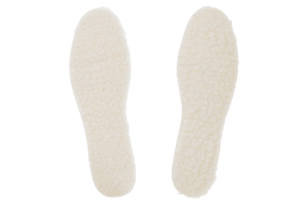 Grafters Mens Fleecy Insoles (6 Pairs) (White) (11 UK)